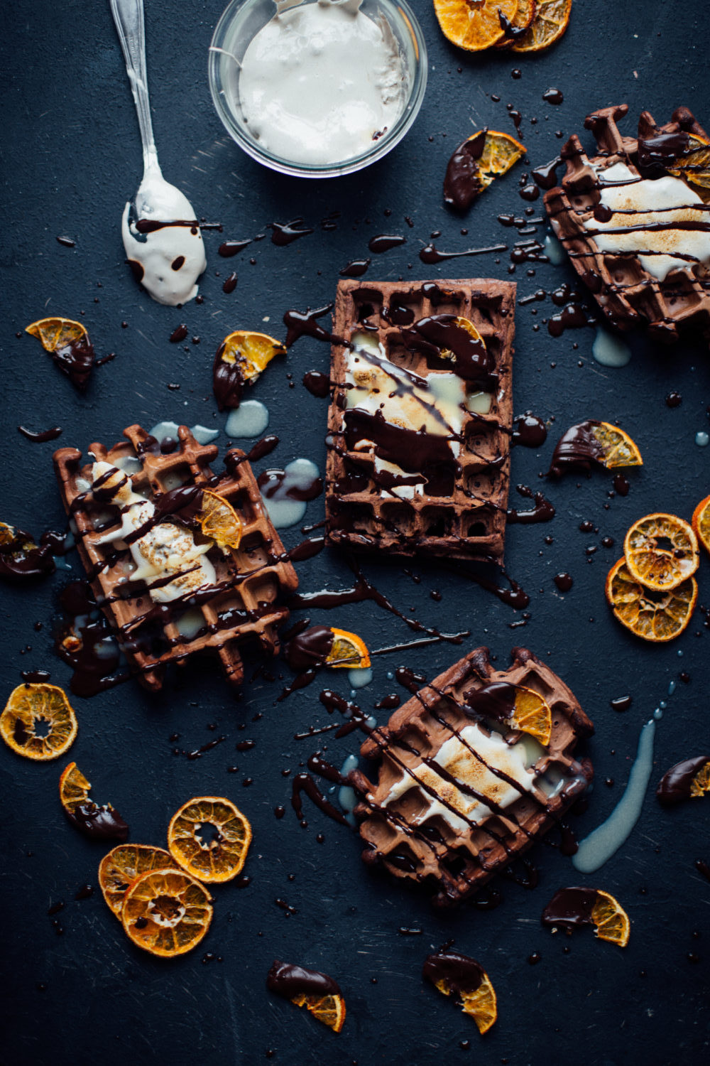 soysauce_chocolate_waffles