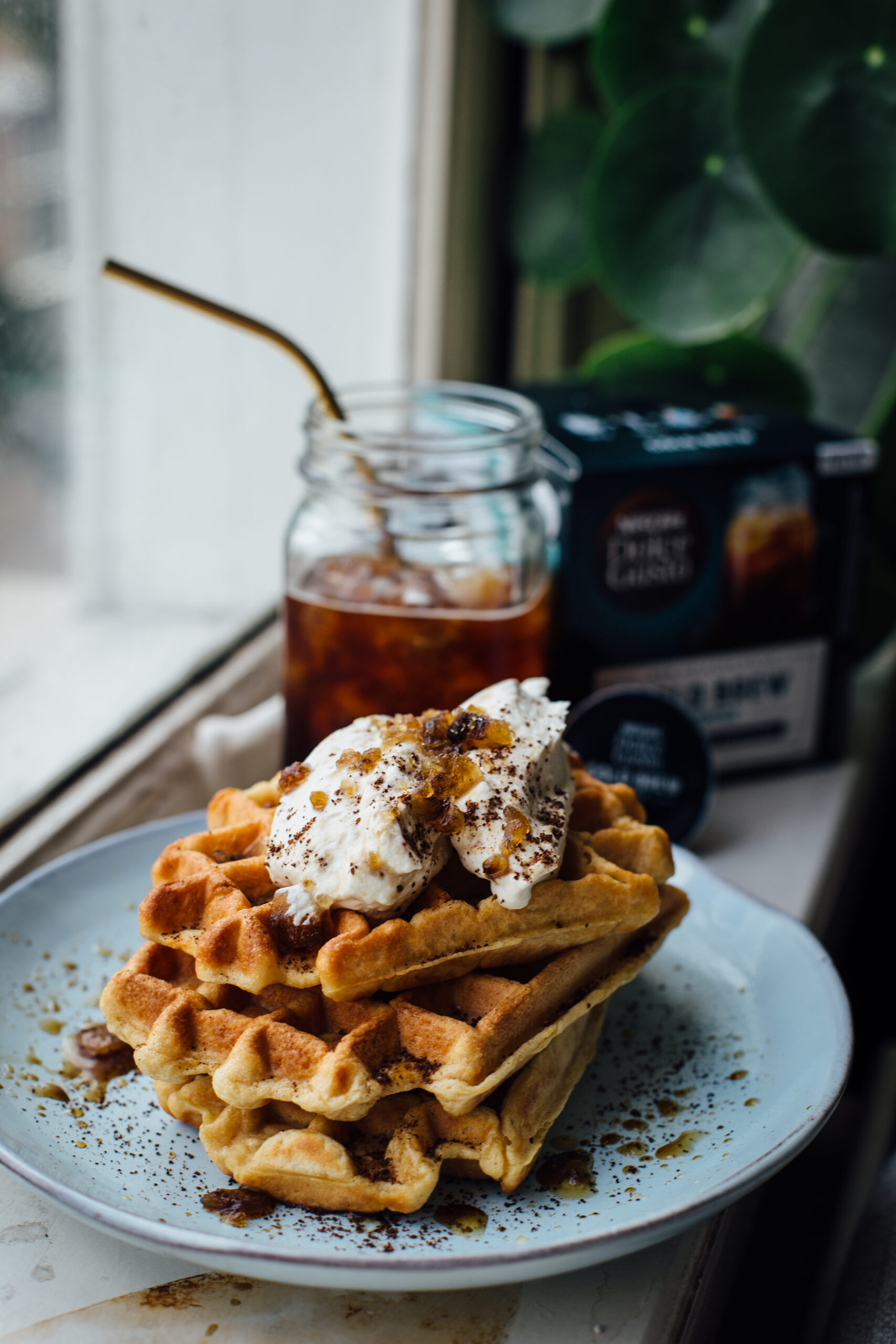 "Featured image for ""131 – Dolce Gusto Cold Brew Coffee Waffles"""